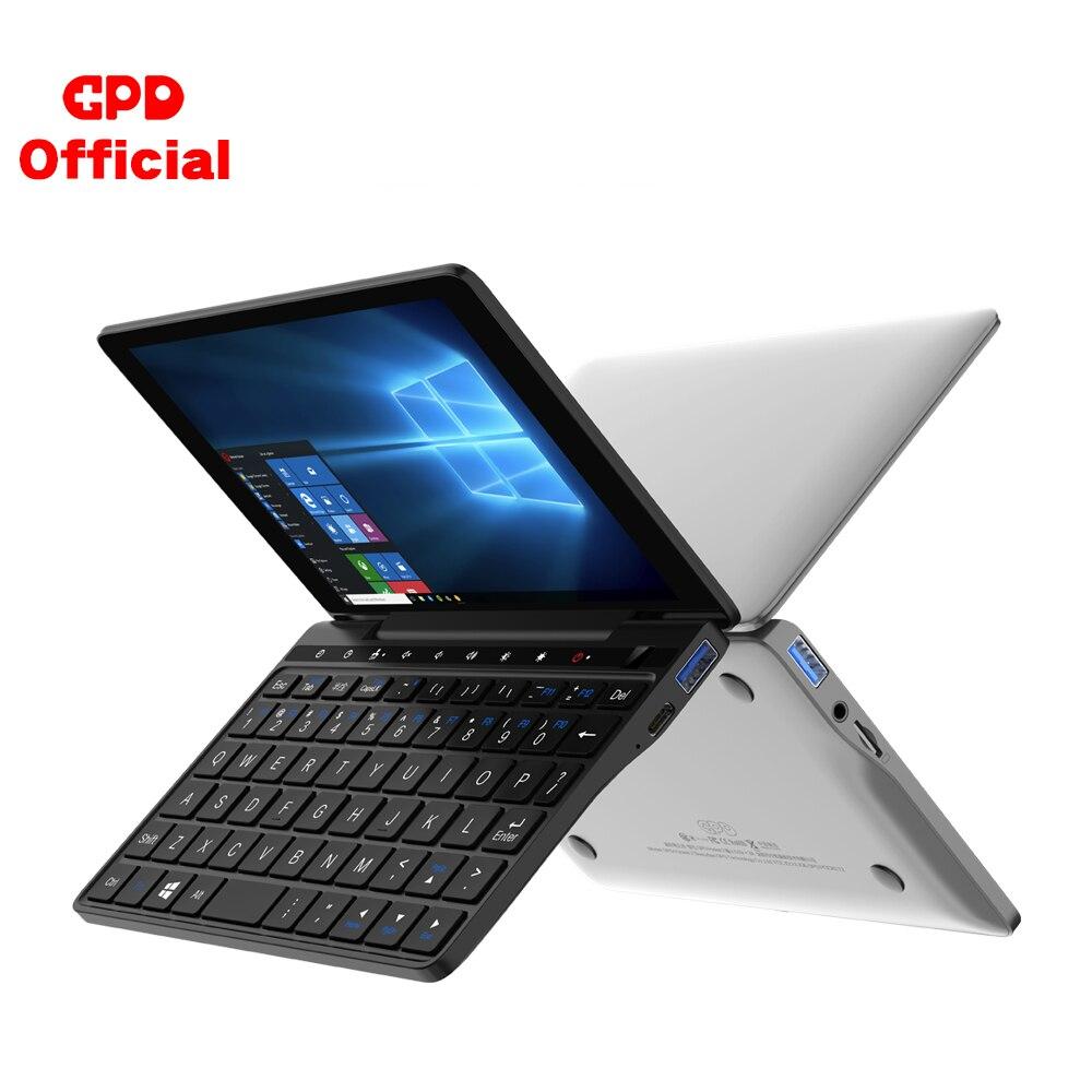 New GPD Pocket 2 8GB 256GB 7 Inch Slim Laptop Gaming Mini PC Computer Netbook Touch Screen CPU Intel Celeron 3965Y Windows 10(China)