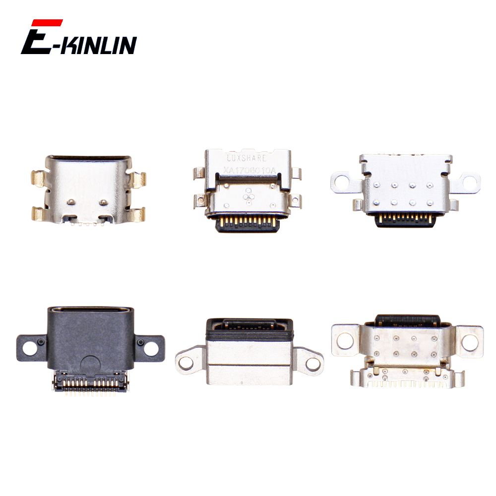 Micro USB Jack Type-C Charging Connector Plug Port Dock Charge Socket For XiaoMi Mi Max Mix 3 2S 2