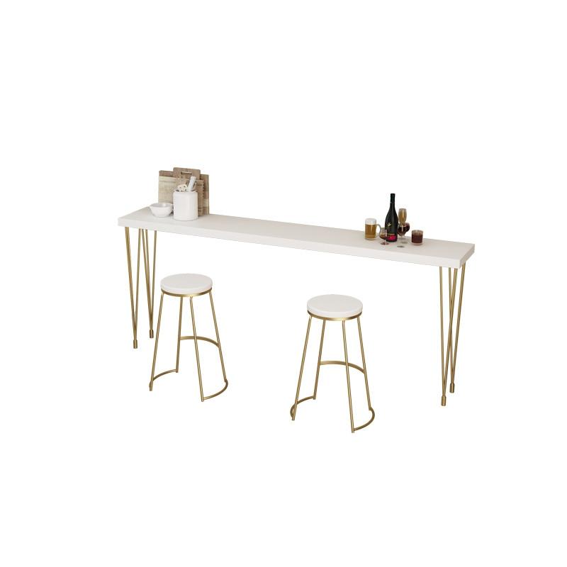 Nordic Wrought Iron Bar Chair Bar Chair Modern Minimalist High Stool Creative Coffee Chair Front Desk Chair Dining Chair