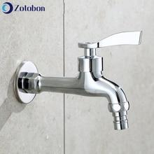 Faucet Outdoor Taps Bibcock Water-Tap Wall-Mount Washing-Machine Brass ZOTOBON F281 Multi-Function
