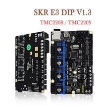 Twotrees skr e3 dip v1.3 placa de controle braço 32bit cortex-m3 tmc2208 tmc2209 peças de impressora 3d para ender 3/5 pro skr v1.3 mini e3
