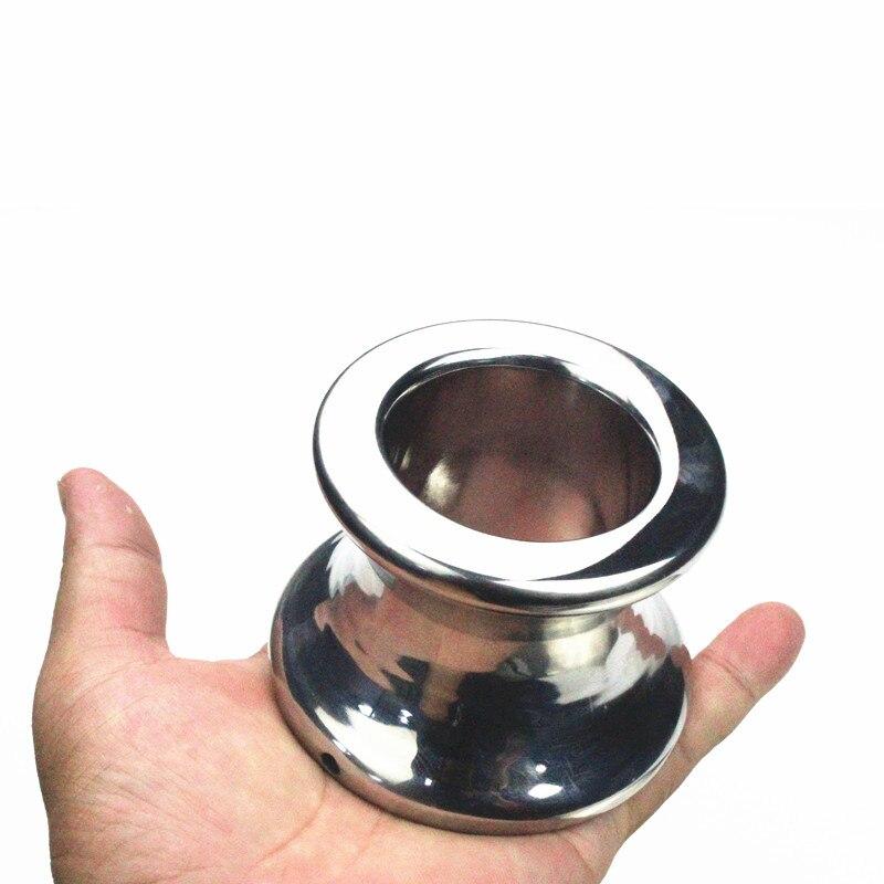 Анальная стимуляция, анальная пробка из нержавеющей стали, анальная секс-игрушка для мужчин, H8-1-55