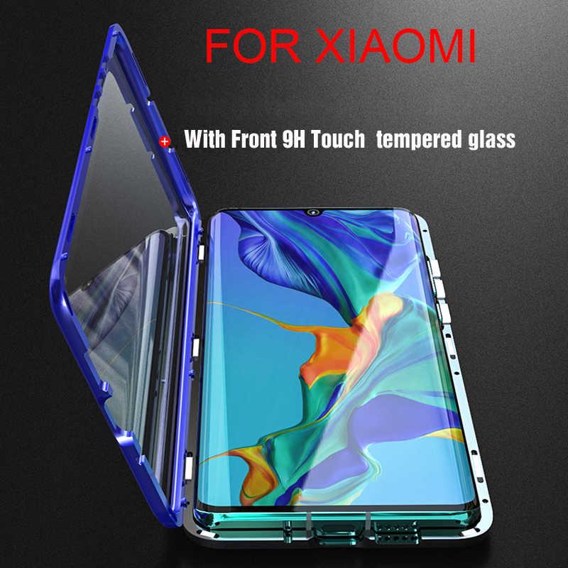 Rdcy Từ Hấp Phụ Kim Loại Kính Cường Lực Cho Xiaomi Mi 8 9 SE POCO X2 CC9E A3 K20 Mi 9T CC9 Pro Redmi 9Pro 8 9 S 8Pro Mi 10Pro