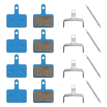 цена на 4 Pairs of Bicycle Brake Pads for TRP Tektro Shimano Deore Br-M575 M525 T675 M495 M475 M465 M446 M375 C601 C501S, Etc