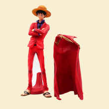 One Piece Luffy 20th Anniversary Ver. Red Cloak The Ultimate King Action Figure Luffy Sanji Zoro OP PVC Model Toy