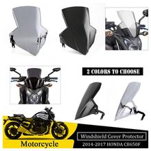 Windscreen For Honda CB650F CB 650F 650 F 2014 2015 2016 2017 Windshield Shield Screen Wind deflector Fly Flyscreen