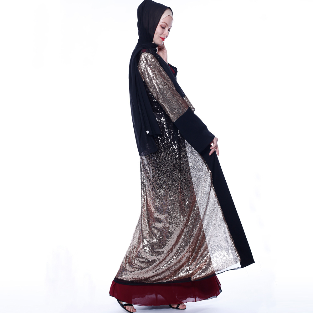 Новинка 2020 abaya мусульманская одежда для женщин исламский