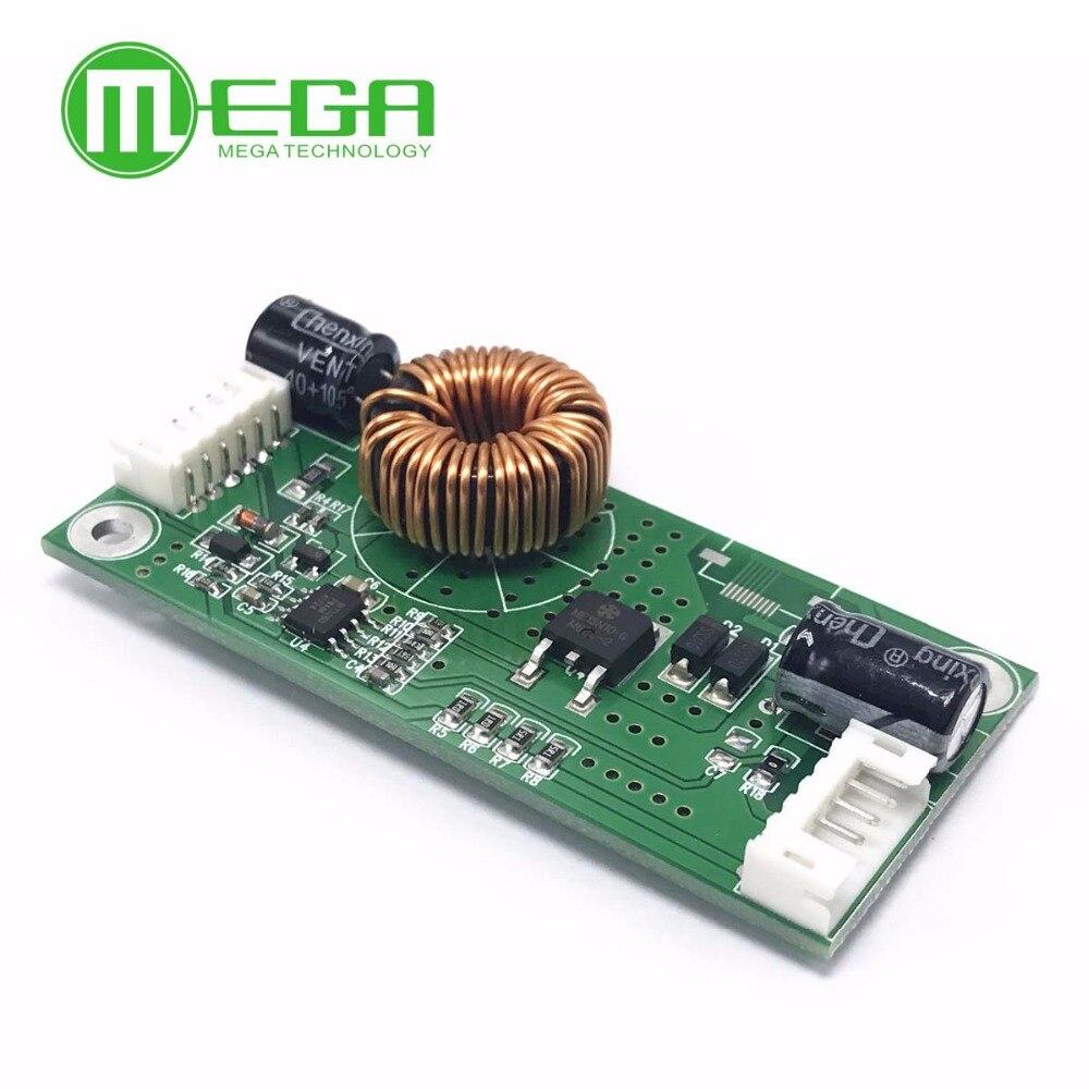 Led lcd universal tv backlight luz de fundo constante atual lâmpada driver placa impulso step up módulo 10.8-24v a 15-80v 14-37 Polegada