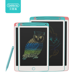 Beiens Drawing Toys 8.5/10 Inch LCD Drawing Board Ultra-thin Writing Tablet Electronic Handwriting Pad Colorful Screen Board(China)