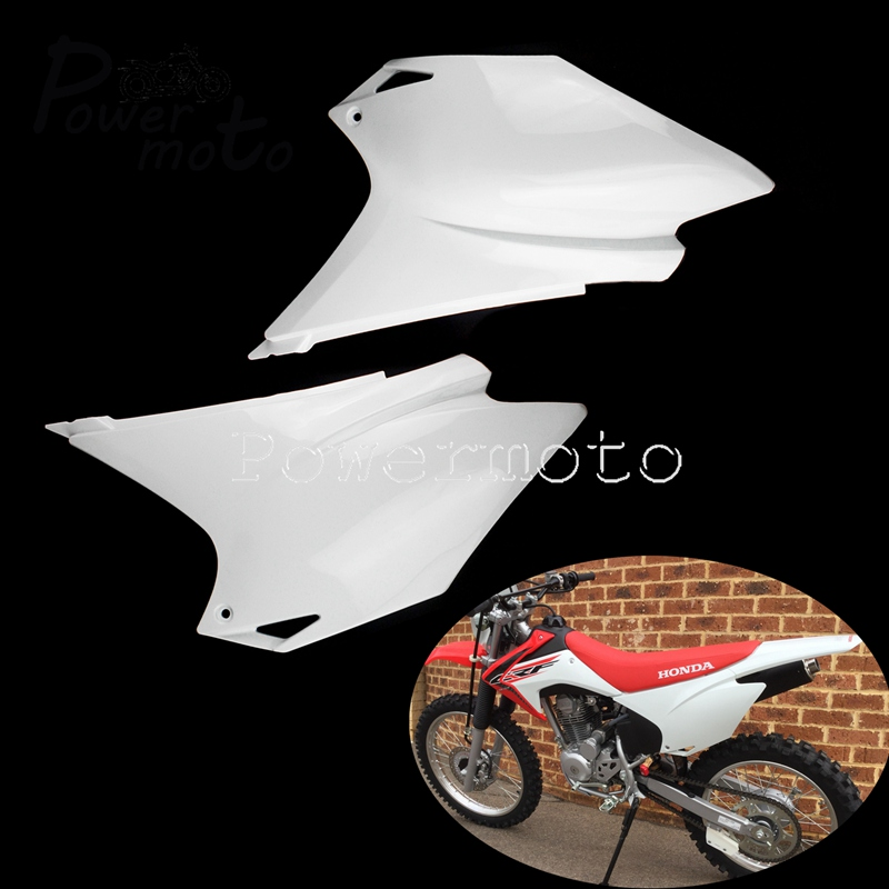 For Honda CRF 150/230 CRF150F CRF230F Off Road Dirt Pitbike Side Cover Rear Number Name Plates Fairing Panel Cowl 15-19 image