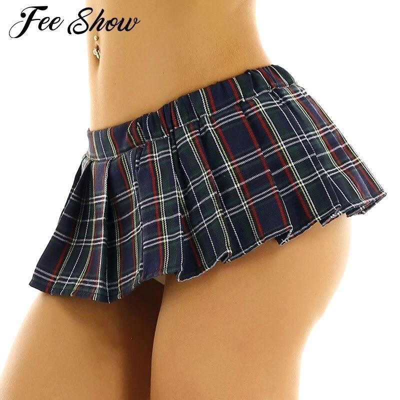 Schoolgirl Short Skirt