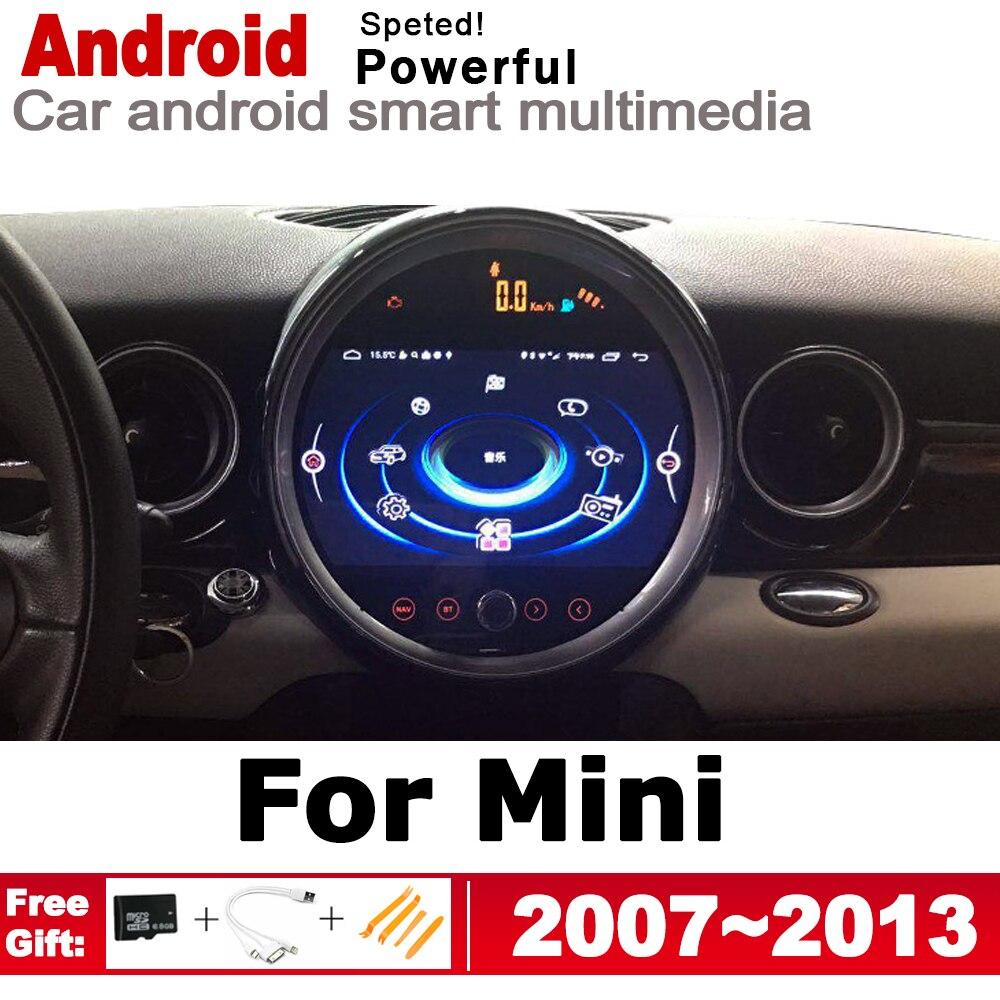 2 Din voiture lecteur multimédia Android Auto Radio pour Mini trappe un tonnelier S D R56 2007 ~ 2013 DVD autoradio stéréo GPS Navigation
