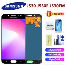 Регулируемый ЖК-Дисплей Galaxy J530 для samsung J5, сенсорный экран, дигитайзер J5 Pro J530 J530F, ЖК-дисплей 5,2 дюйма