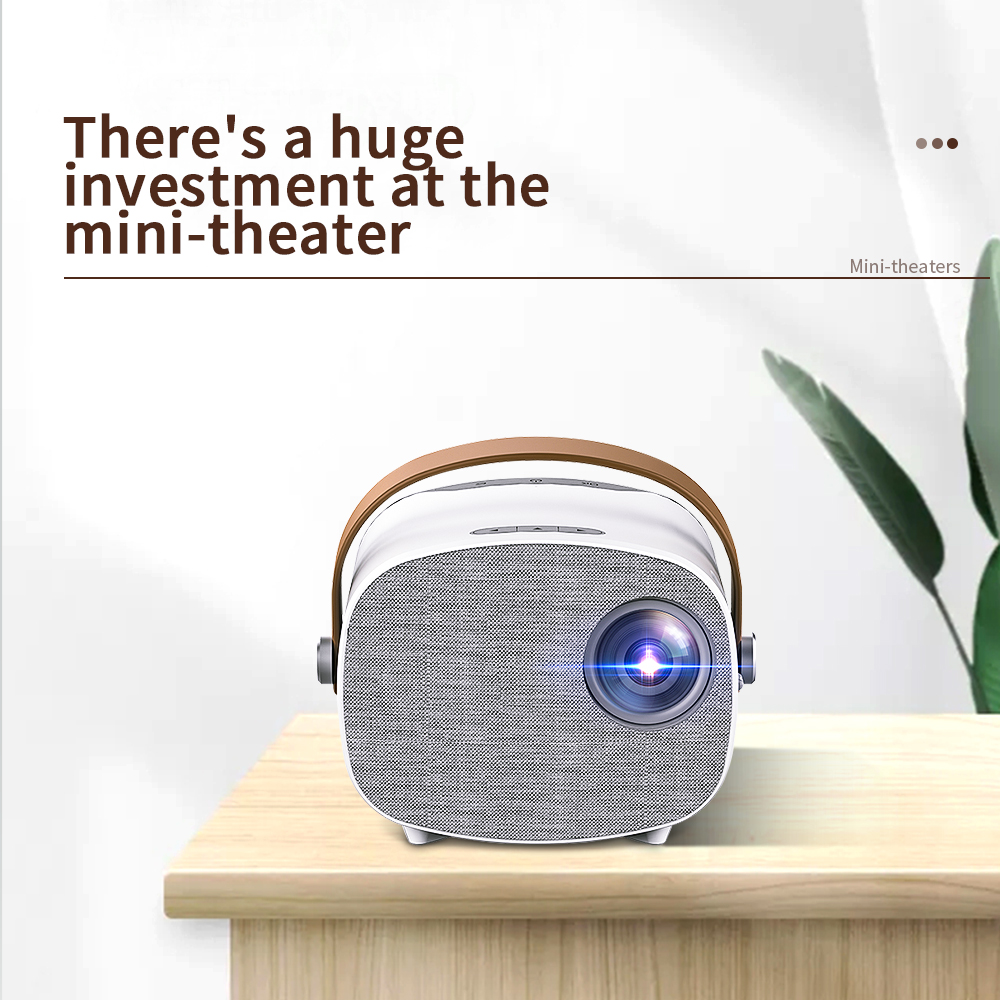 Портативный мини-проектор LEJIADA YG230, 640*480 пикселей, full HD 1080P, поддержка дисплея 100 дюйма, домашний кинотеатр, видео, кинопроектор