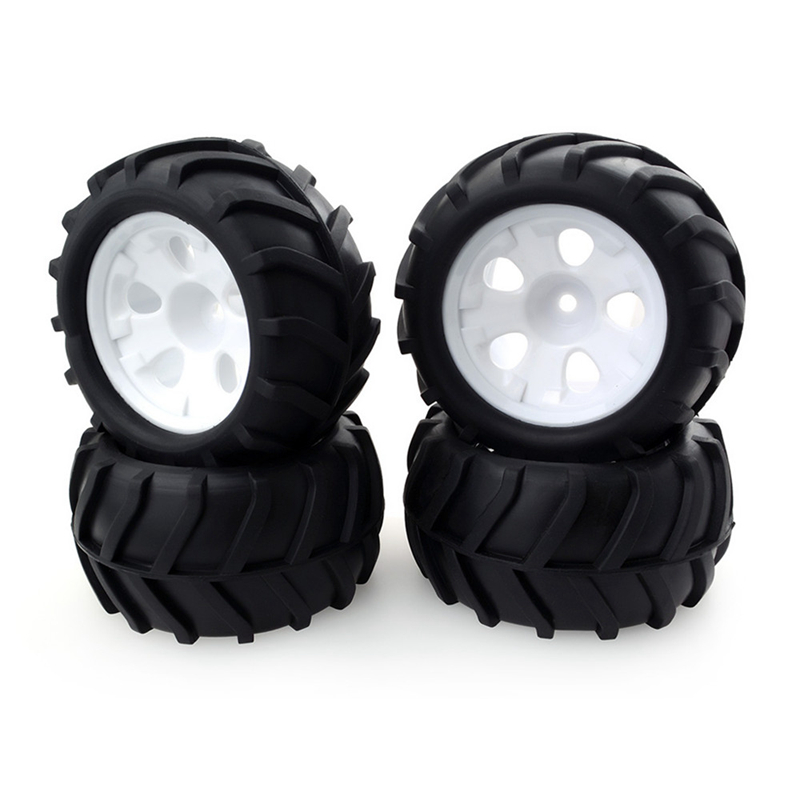 4pcs ZD Racing 6455 <font><b>RC</b></font> Car <font><b>Wheel</b></font> Tire For Monster Truck 1/16 9051 9053 9055 <font><b>RC</b></font> Vehicle Models image