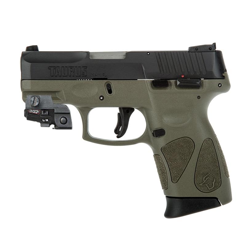 Перезаряжаемый Glock 17 пистолет с зеленым лазерным лучом, тактическое оружие для самообороны, Пикатинни, лазерная указка