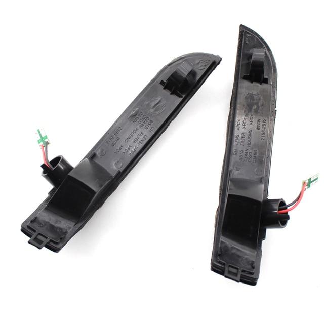 Feux clignotants | Rétroviseur latéral à aile latérale, indicateur séquentiel, lampe pour Ford Kuga Escape EcoSport, clignotants
