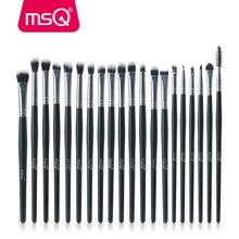 Msq Professionele 20 Stuks Make Up Kwasten Sets Oogschaduw Wimpers Wenkbrauw Lip Cosmetische Tool Make Up Ogen Detail Brush Kits