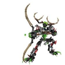 BIONICLE 172pcs Umarak Hunter figures 611-3 Building Block toys Compatible Gift