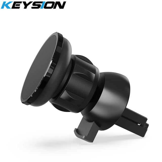 KEYSION Magnetic Car Phone Holder Air Vent Outlet Rotatable Mount Magnet Phone Mobile Stand Universal For iphone Samsung Xiaomi 1