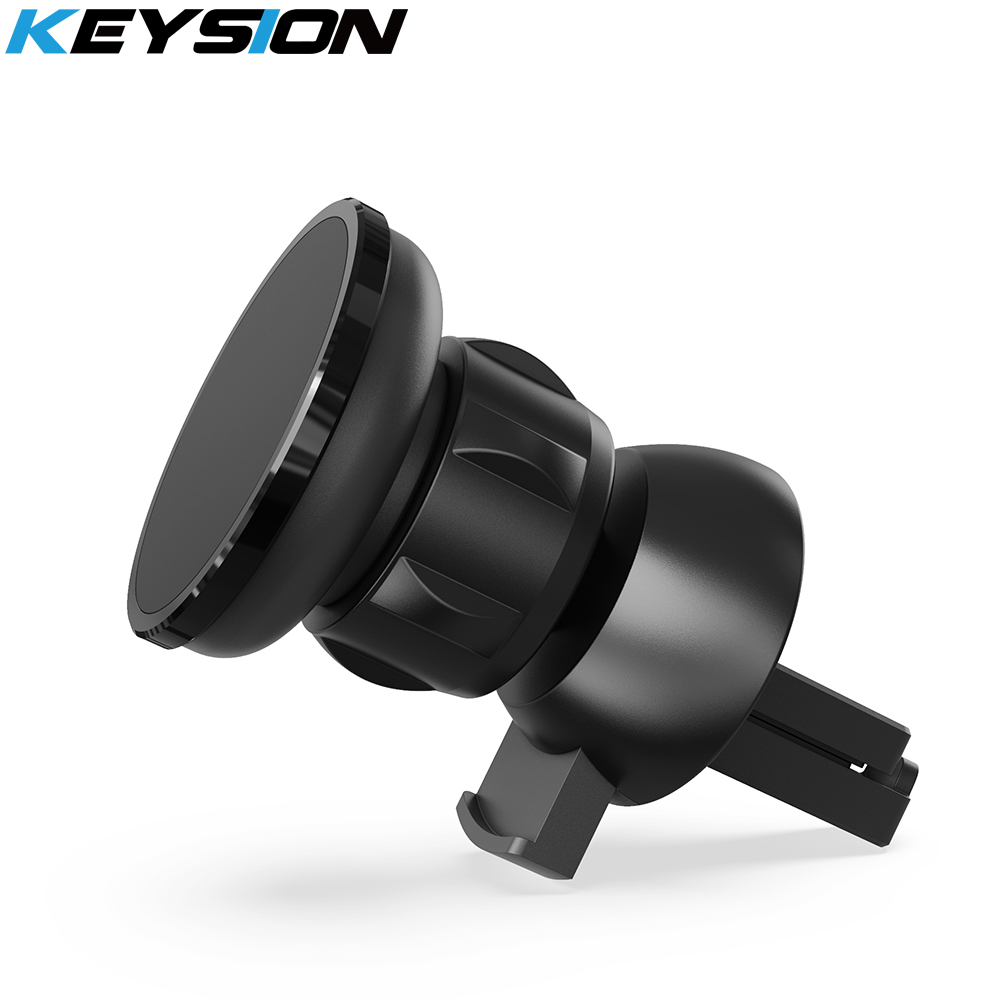 KEYSION Magnetic Car Phone Holder Air Vent Outlet Rotatable Mount Magnet Phone Mobile Stand Universal For Iphone Samsung Xiaomi