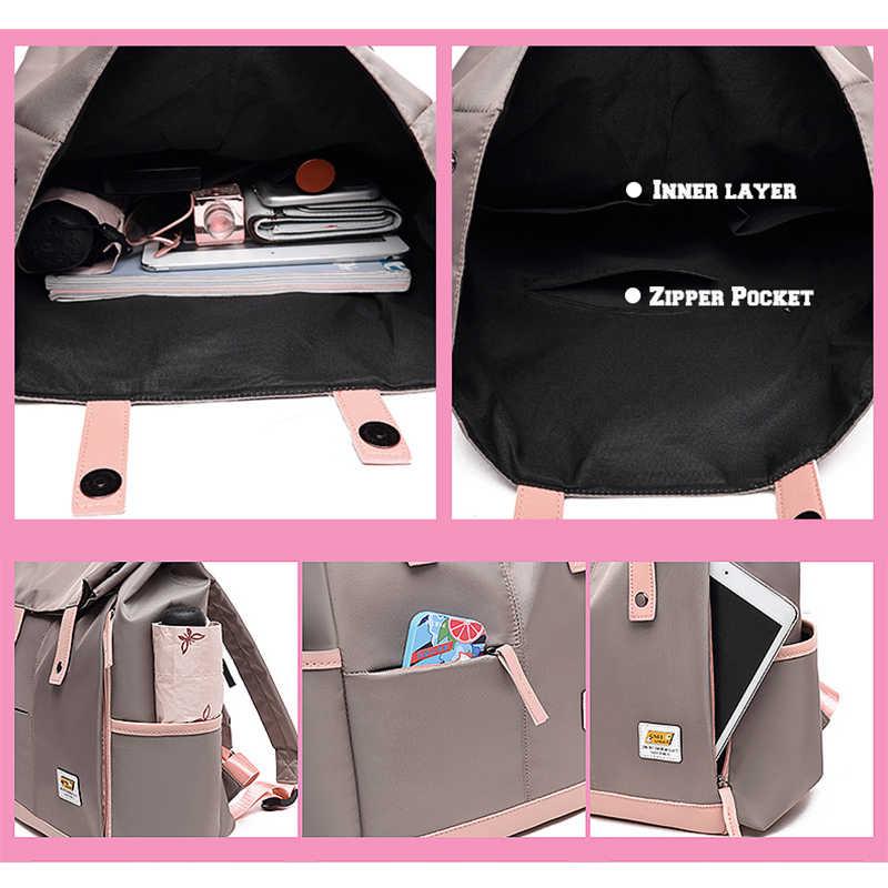 LIKETHIS Delle Donne di Grande Capienza Zaino Da Viaggio Unisex Bagpack Sacchetto di Cura Zaino Uomini Zaino Borse Bolsas Mochila 2020 Рюкзак