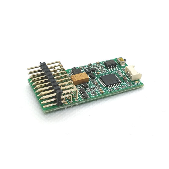 Dasmikro Tbs Mini Programmeerbare Motor Geluid Eenheid En Light Control Unit Upgrade Versie Voor Rc Model