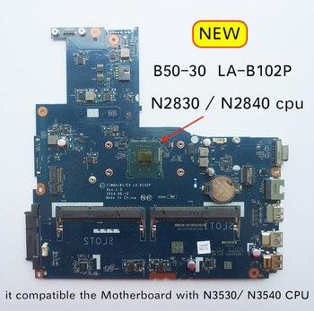 Free Shipping New LA-B102P B50-30 Motherboard for Lenovo B50-30 Laptop pc Mainboard
