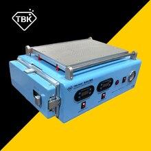 TBK 968C LCD Ekran Ayrı OCA Otoklav Kabarcık Kaldırmak için Makine dahili vakum pompası ipad iphone X samsung Kavisli ekran