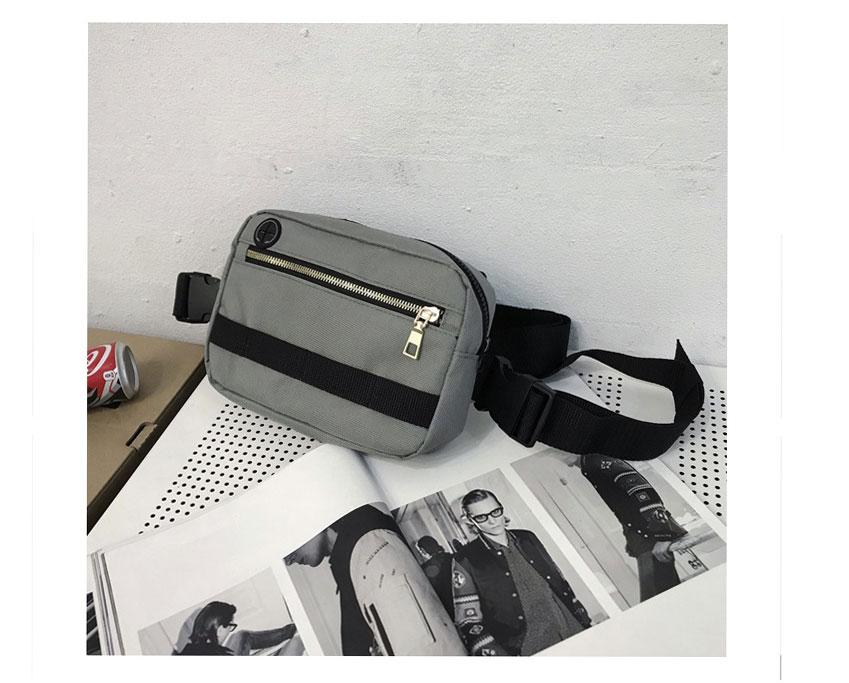 H0182b5566a9e4ebfa2188184535e2687I - Vest-Style Large Space Chest Bag Retro Square Chest Bag Streetwear Shoulder Functional Backpack Tactics Funny Pack G108