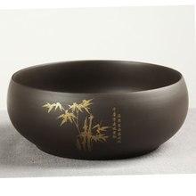 Jar Wash Flower-Pot Pen Teacups-Tea Pottery Writing-Brush Kung-Fu Zhisha 1pc