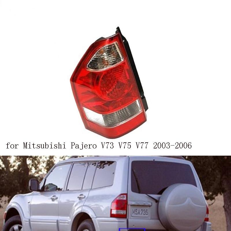 Задний светильник для Mitsubishi Pajero 2003 2004 2005 2006 Предупреждение светильник тормоз заднего бампера светильник хвост светильник стоп-сигнала
