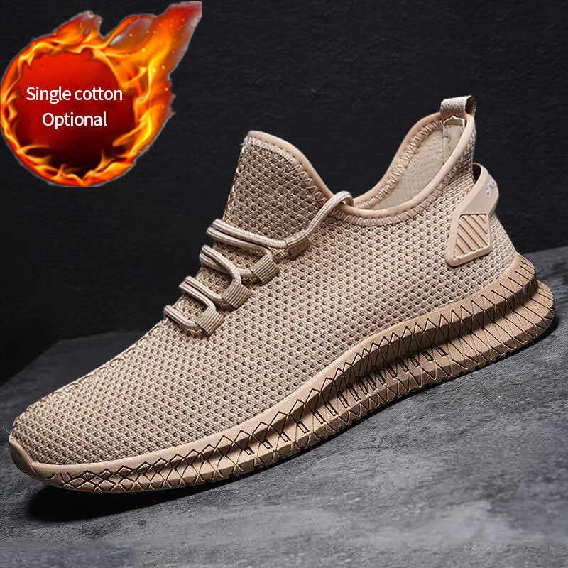 Mannen Sneakers Zwart Mesh Ademend Running Sport Schoenen Man Lace Up Antislip Mannen Lage Atletische Sneakers Casual Mannen schoenen
