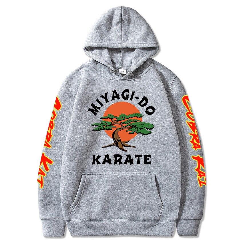 Bughyprint Felpa Maglia Girocollo Cobra Kai Karate Kid