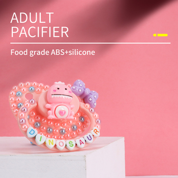Adult Size Pacifier ABDL Soft Silicone BPA  Adult Size pacifiers for babies DDLG Daddy Girl Dummy Dom Little Space daddy dom ddlg abdl leather collar