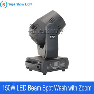 Image 3 - 4pcs With Flightcase 150W Beam Spot Wash Moving Head Light Led DMX Stage Light For Wedding Disco DJ Bar