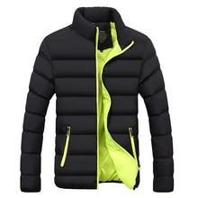 Winter Jacket Men Clothes 2020 Solid Colors Ultra light Parka Mens Jackets And Coats Stand Collar Bubble Coat Puffer Jackets