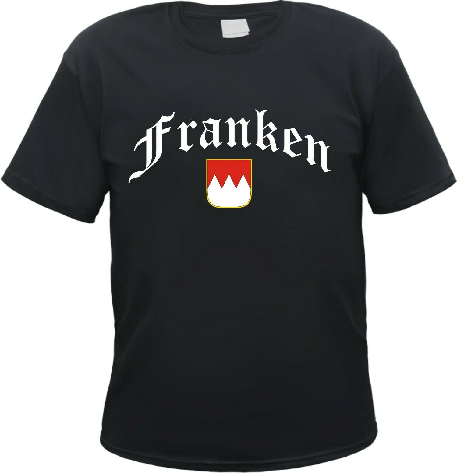 Franken T-Shirt with Crest-Franc country, Fallen, Franc Song, Nuremberg- show original title image