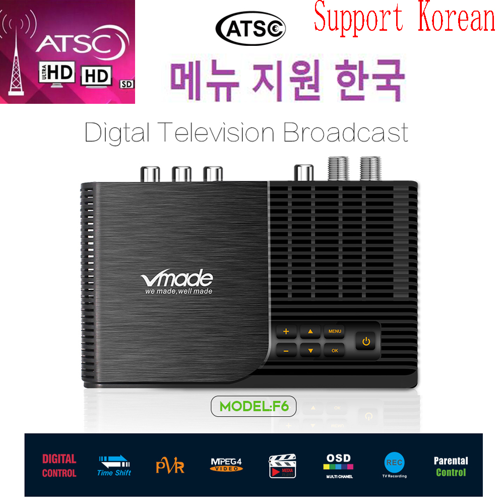 Hot Sale Atsc-t Terrestrial Digital TV Receiver Atsc Work At USA Canada Mexico Korea Tv Tuner ATSC-T Atsc T Standard