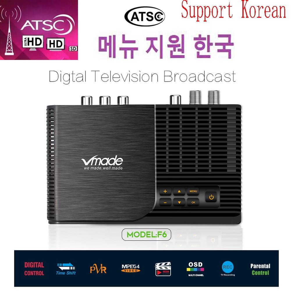 Hot Sale Atsc-t Terrestrial Digital TV Receiver Atsc Work At USA Canada Mexico Korea Tv Tuner ATSC-T Atsc T Standard