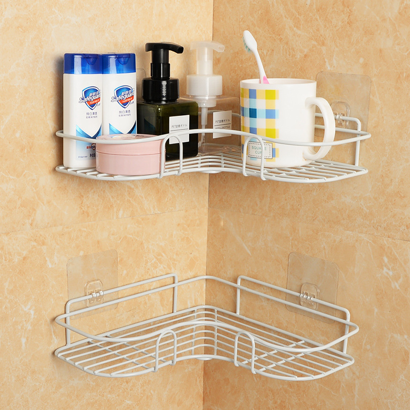 Hanging Under Cupboard Iron Storage Shelf Mesh Basket Kitchen Rack Chopping Block Rack Cutting Board Towel Holder Cabinet Door
