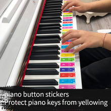 Наклейка на клавиатуру со звуковым названием 49 61 88