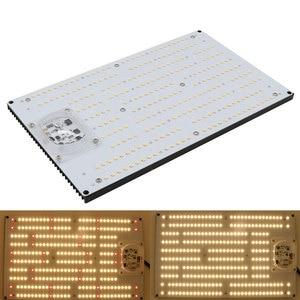 Image 1 - Ledボードsamsung LM301H 3500 18k混合赤660nm薄暗い120ワット240ワット無人ac 220植物ランプフルスペクトルを育てる