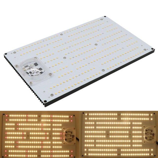 Ledボードsamsung LM301H 3500 18k混合赤660nm薄暗い120ワット240ワット無人ac 220植物ランプフルスペクトルを育てる