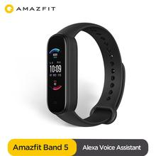 New 2020 Global Version Amazfit Band 5 Multilanguage 15 Days Battery Life 5ATM Water resistant