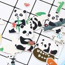 1 шт панда наклейки мультфильм декоративные канцелярские diy