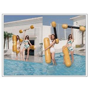 Image 3 - YUYU 4 Miếng Phao Hồ Nước Đồ Chơi Trò Chơi Bơi Inflat Bể Bơi Phao Bơm Hơi Đồ Chơi Người Lớn Tiệc Bể Bơi Inflat Bè bể Đồ Chơi Kid
