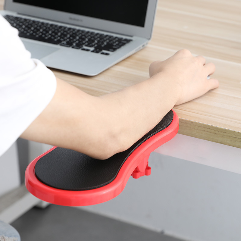 Desk Attachable Wrist Rest Rotated Computer Arm Support Mouse Pad Computer Support Arm Placement Rack To Relieve