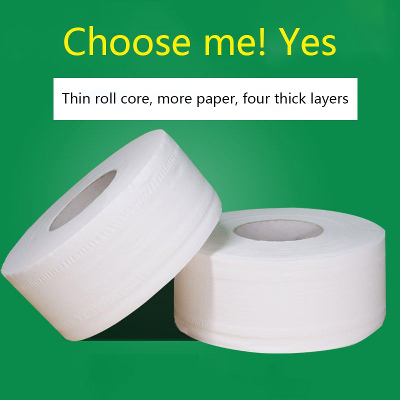 Big Rolls Of Paper Rolls Toilet Paper Roll Household Toilet Paper Affordable 4 Ply Thicken Toilet Paper Towels