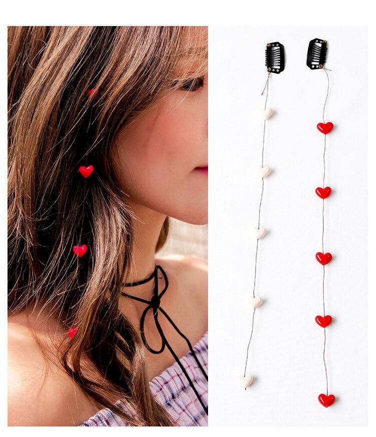 Coração Loving HA1227 Invisibilidade Ferramentas Hair Styling Acessórios Para o Cabelo